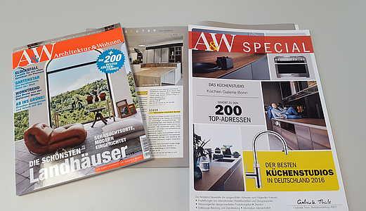 Au0026W Architektur U0026 Wohnen, Deutschlands Stilbildendes Magazin Für Wohnen,  Architektur, Garten, Design Und Style, Ermittelte Gemeinsam Mit Experten  Der ...