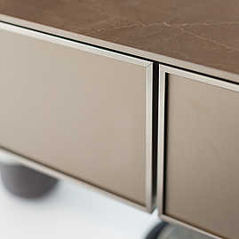 SieMatic Front goldbronce
